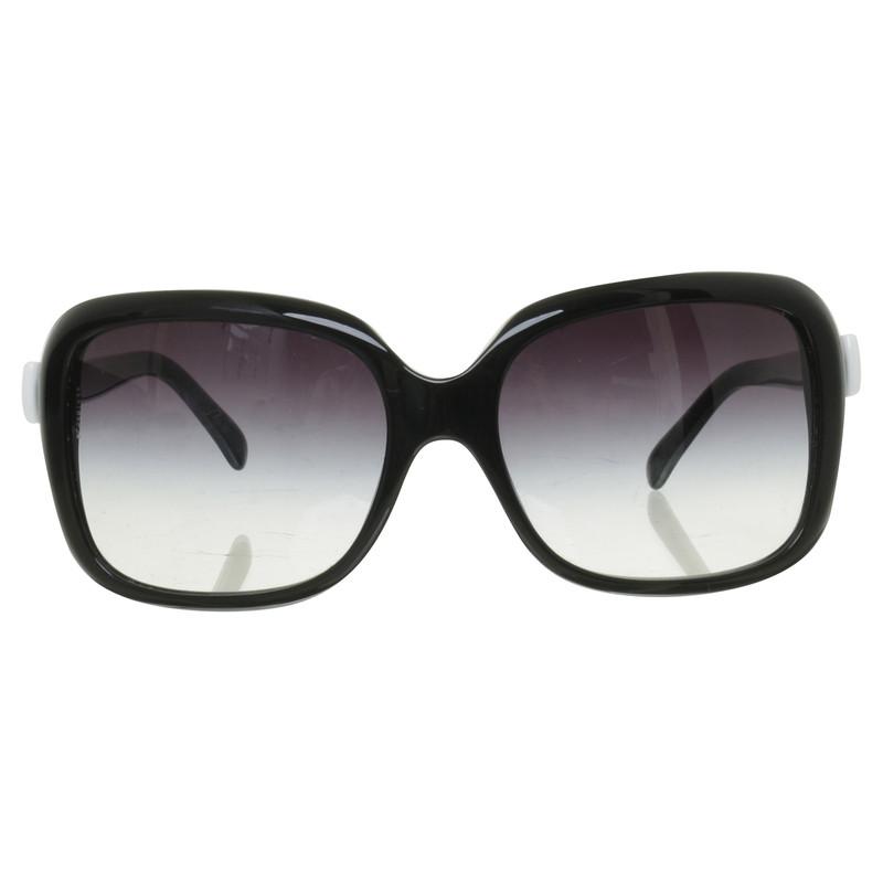 chanel sonnenbrille mit schleifen detail second hand. Black Bedroom Furniture Sets. Home Design Ideas