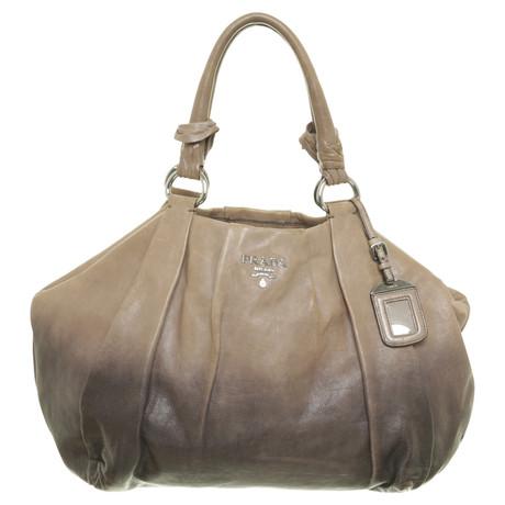 Prada Handtasche mit Farbverlauf Taupe Rabatt Beste Preise Große Auswahl An Kauf Niedrigster Preis Günstig Online Besuchen Online c91bNFiTEG
