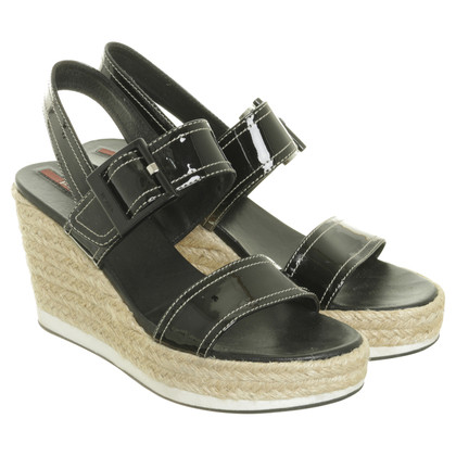 Prada Wedges in patent leather