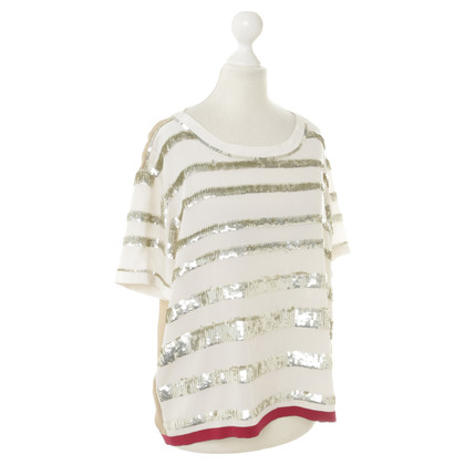Aquilano Rimondi top with sequins