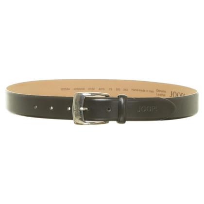 JOOP! Belt with embossed logo