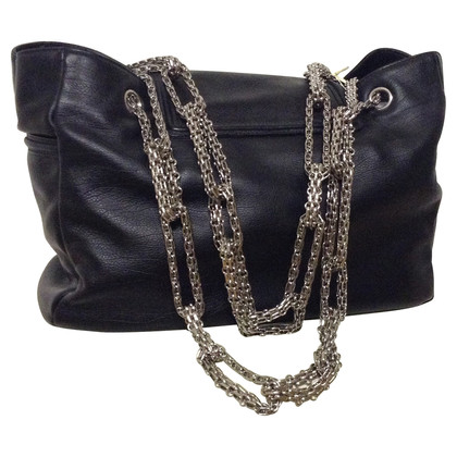 Chanel Leather bag with chain handle