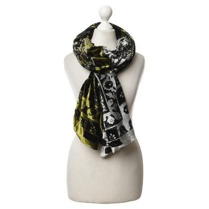 Etro Sjaal met fluweel afdrukken