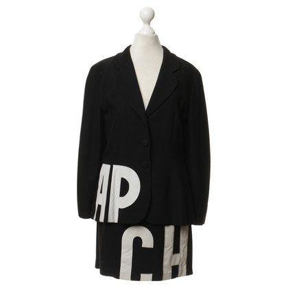 Moschino Cheap and Chic Costume con lettere bianche
