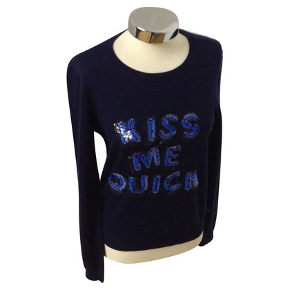 Markus Lupfer Sweater with inscription