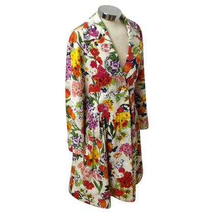 Moschino Coat with flower pattern