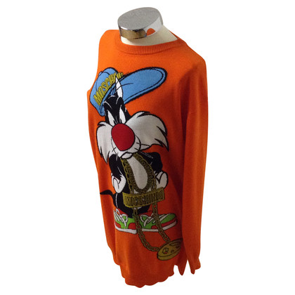 Moschino Sweater with cartoon character