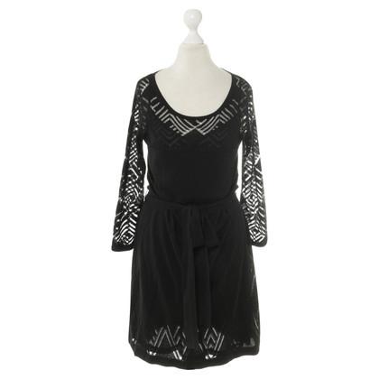 Kenzo Brei jurk in zwart