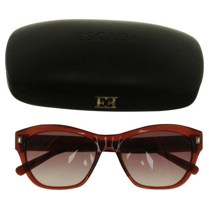 Escada Sunglasses in red