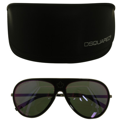 Dsquared2 Zonnebril met rectangularly spiegelen