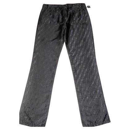 Fendi Zwarte satijn Jeans