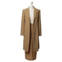 Donna Karan Kostuum Camel