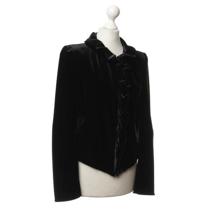 Giorgio Armani Fluweel jas