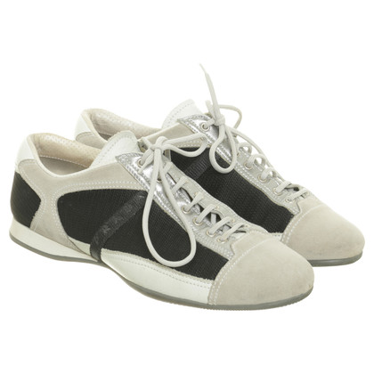 Prada Sneakers with material mix