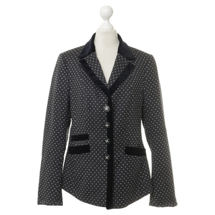 Thomas Rath Blazer with velvet trim