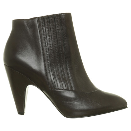 Ash Ankle-Boots in Schwarz