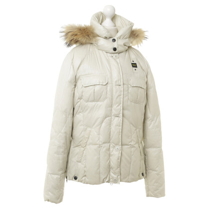 Blauer USA Jacket with fur trim