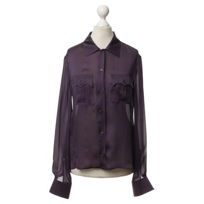 Hermès Blouse in paars