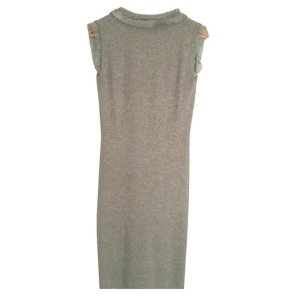Allude Knit dress with trim