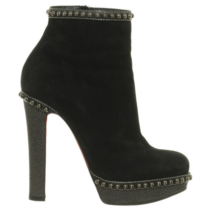 Christian Louboutin Plateau ankle boots