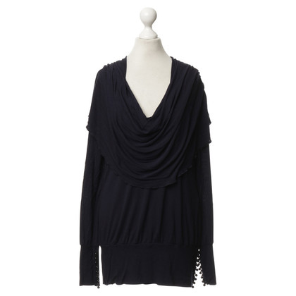 Armani Top in blu scuro