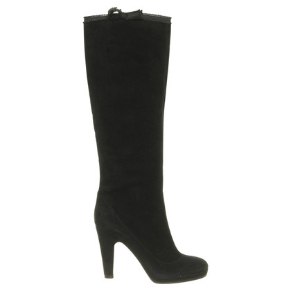 Marc Jacobs Black Suede boot