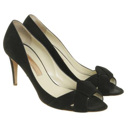 Rupert Sanderson Peep-toes in black