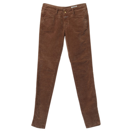 Closed Pants in Brown