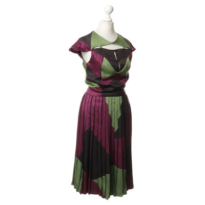 Zac Posen The patchwork look dress