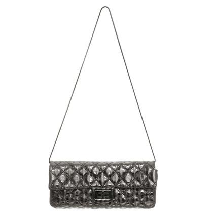Chanel Silver metallic shoulder bag