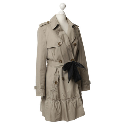 Red Valentino Trenchcoat in Naturfarben