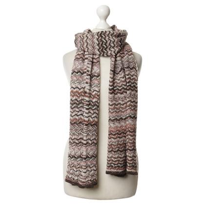 Missoni Scarf with fancy yarn