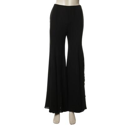Escada Silk trousers in black