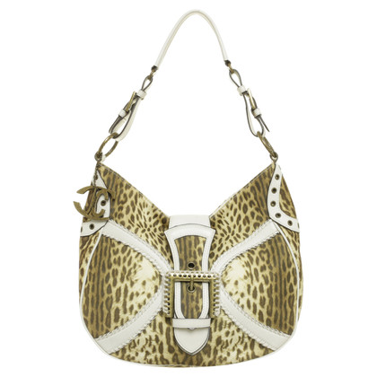Just Cavalli Leo-print shoulder bag