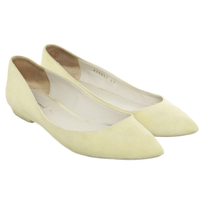 Armani Ballerinas in yellow