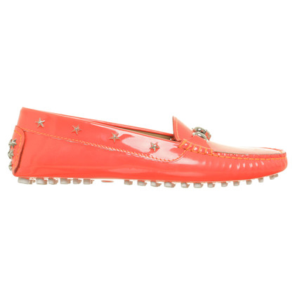 Philipp Plein Loafers in Neonrot