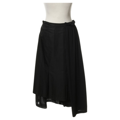 Comme des Garçons skirt with pleated detail
