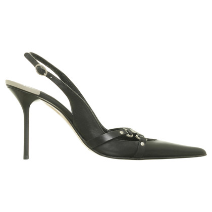 Gianmarco Lorenzi Black Pumps