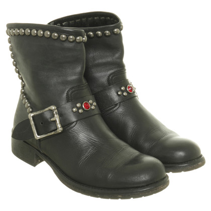 Other Designer HTC - boots with studs trim