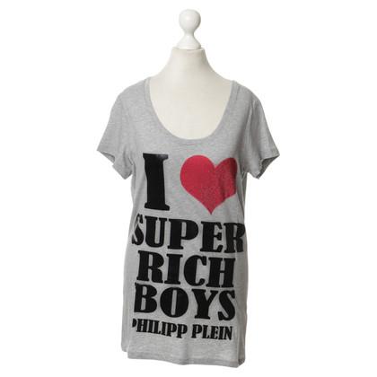 Philipp Plein Shirt mit Typo-Print