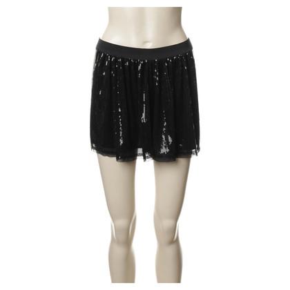 Bash Shorts mit Pailletten-Besatz