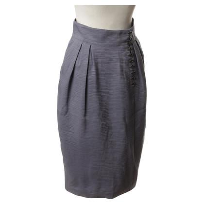 Burberry skirt texture fabric