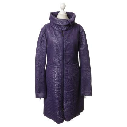 Giorgio Armani Coat in violet