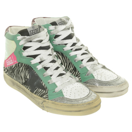 Golden Goose Sneakers con mix di materiali