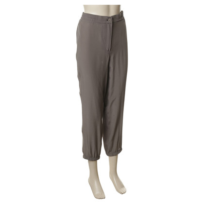 Wunderkind Silk trousers in Taupe colors