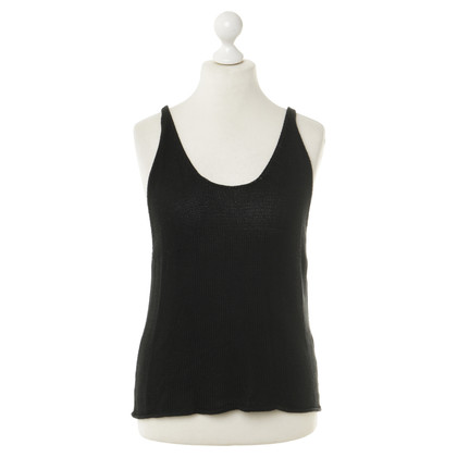 Wood Wood Knitted top in black