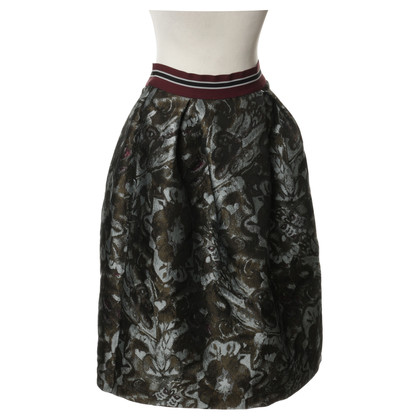 Pinko skirt with a floral pattern