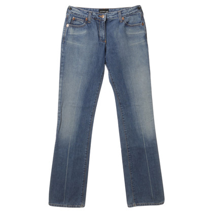 Armani Jeans Jeans met zwarte broderie