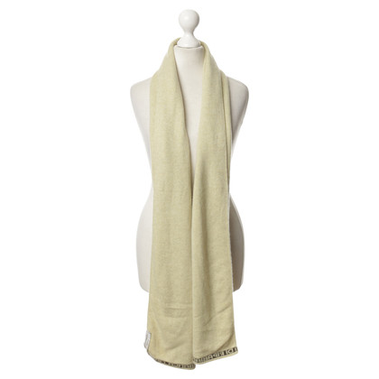 Other Designer Maria di Ripabianca - cashmere scarf with label printing