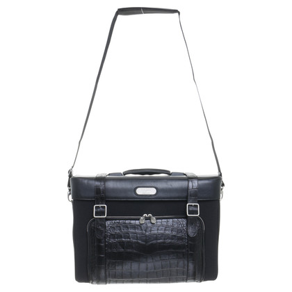 Alexander McQueen Trolley in nero